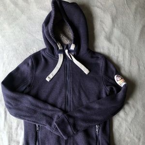 Navy Superdry Mountain Jacket